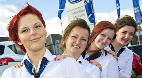 Dunfermline Ford bucks the trend