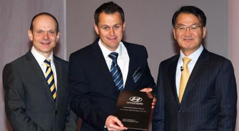 Peterlee Hyundai satisfaction award