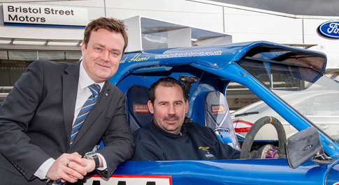Bristol Street Motors backs Paul Harris