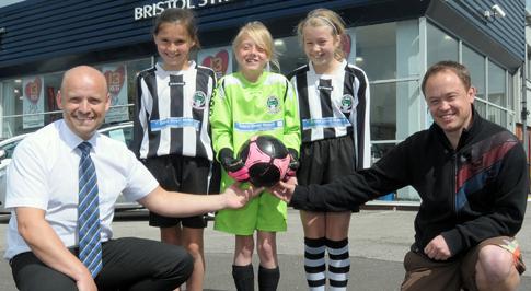 Peugeot Worksop Helps Aspiring Football Stars
