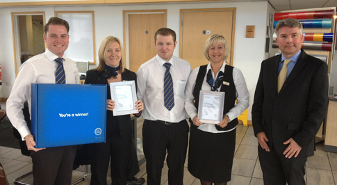 Customer Service Excellence Recognised at West Bromwich