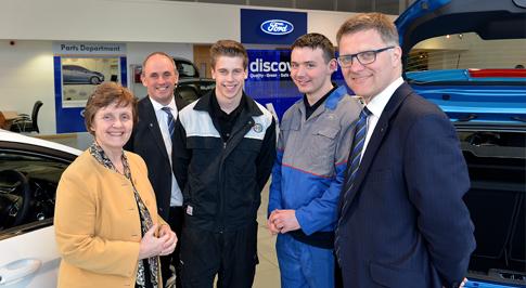 West Midlands MEP visits growing Worcester business