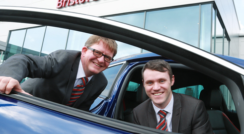 Vauxhall Harrogate welcome new colleagues