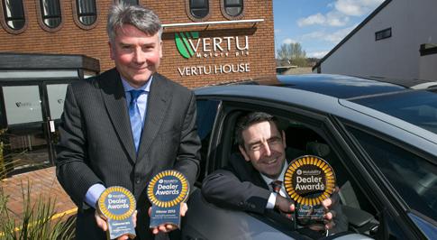 Vertu Motors awarded for excellent customer service