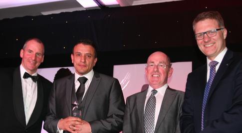 Nissan Widnes Sales Executive wins national award