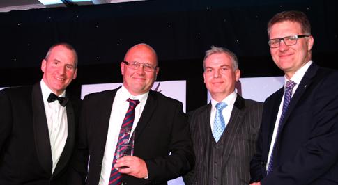 Bristol Street Motors colleagues in Stoke win national award