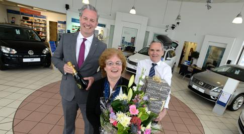 Dealership celebrates employee's 45 years loyal service