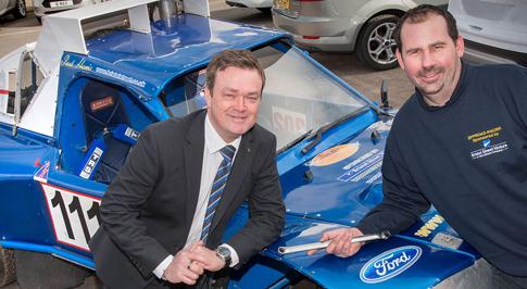 Bristol Street Motors Ford Worcester backs BCCC Driver