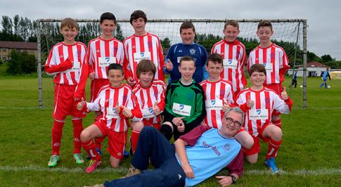 Macklin Motors kits out local junior football club