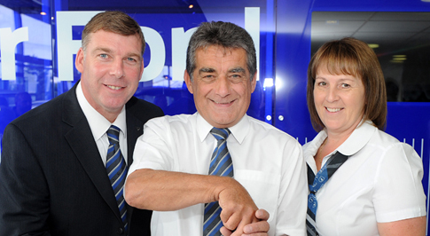 Ford Stoke honours long serving employee