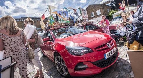 Vauxhall Art Car Boot Fair to hit Folkestone