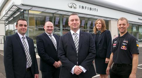 Infiniti Centre Newcastle introduces new team