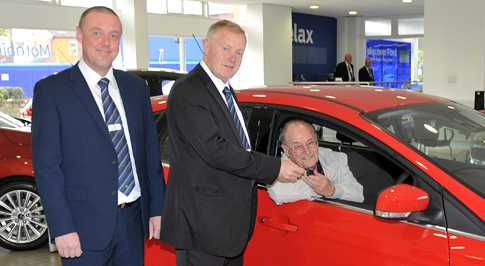 Bolton car dealership marks motability milestone