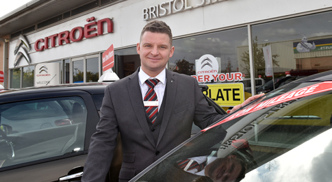 Bristol Street Motors Burton welcomes new manager back to his hometown