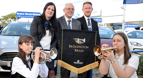 Bristol Street Motors Ford Morpeth continues support for music initiative
