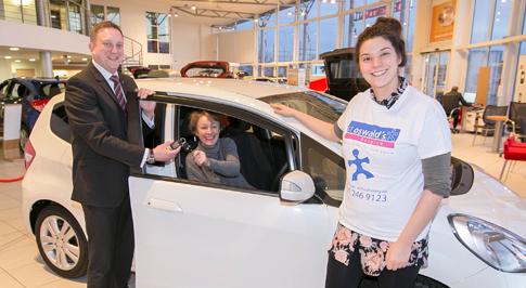Car raffle raises more than £46,000 for children's hospice