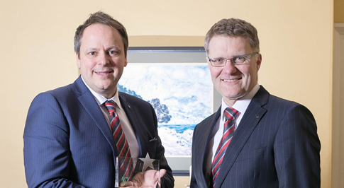 Steve Gould wins 'Company Person of the Year' Award