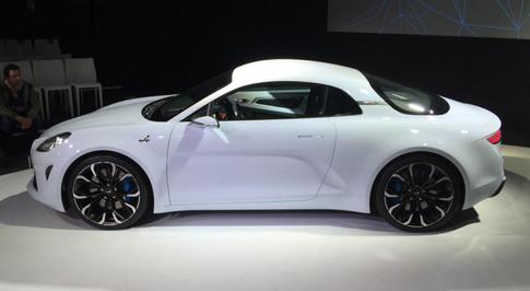 New Renault Concept Unveiled - Alpine Vision