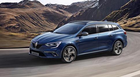 Renault reveals new Megane Sport Tourer