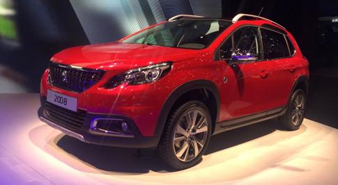Peugeot unveils revamped 2008 SUV