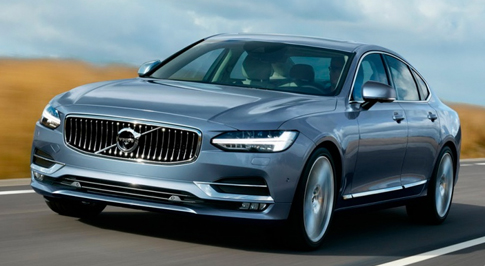 Volvo's S90 and V90 Models Will Run On Air