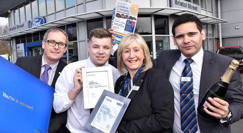 West Bromwich Ford sets gold standard