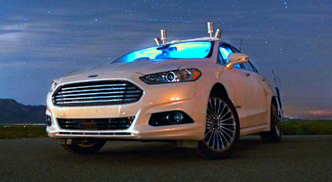 Ford's self-driving cars can see in the dark