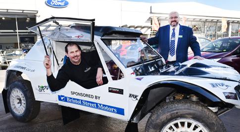 Bristol Street Motors renews support for motorsport driver