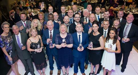Vertu Motors honours colleagues for outstanding achievements