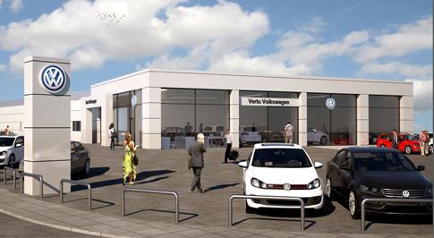 Vertu Volkswagen Nottingham welcomes a £1.4m refurbishment
