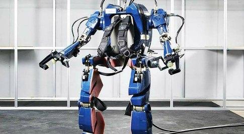 Hyundai release wearable robot concept