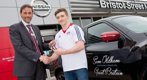 Nissan Ilkeston helps Olympic gymnast on the road to Rio