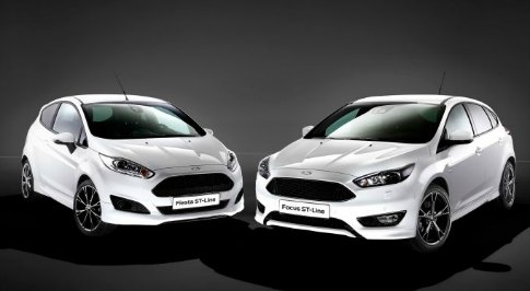 New Fiesta ST-Line and Focus ST-Line models announced