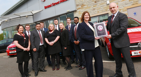 Manager makes a return to award-winning Vauxhall dealership