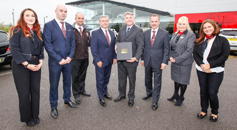 Newcastle Vauxhall receives another accolade
