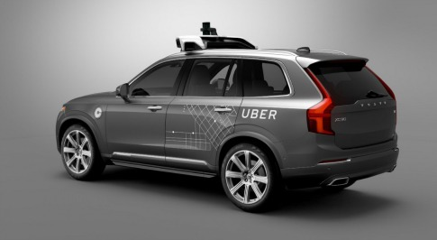 Volvo to Team Up with Uber to Develop Driverless Technology