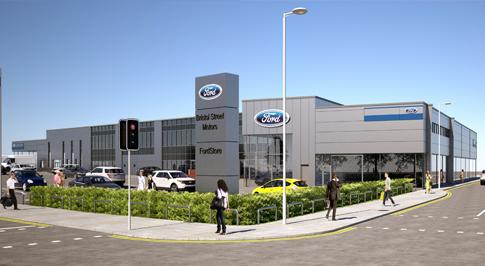 Investment in £3m in prestigious FordStore dealership