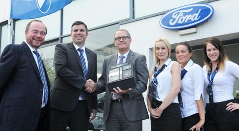 Ford Kings Norton celebrates Motability award