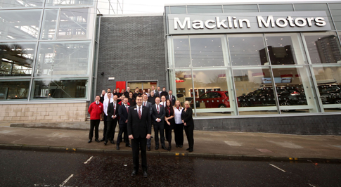 Macklin Motors Nissan Glasgow opens for business