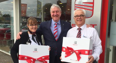 Darlington SEAT celebrates colleagues' achievements