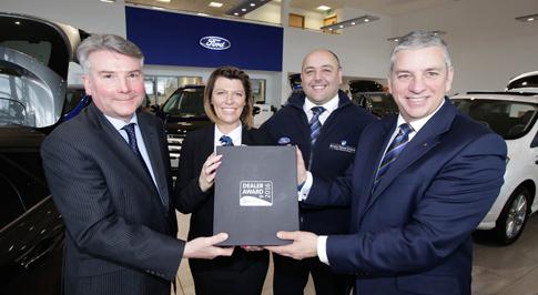 Ford Durham receives Motability Award