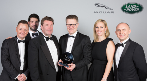 Farnell is Jaguar's Top Retailer of the Year