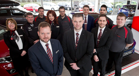 Honda Mansfield's new managers look to build on success