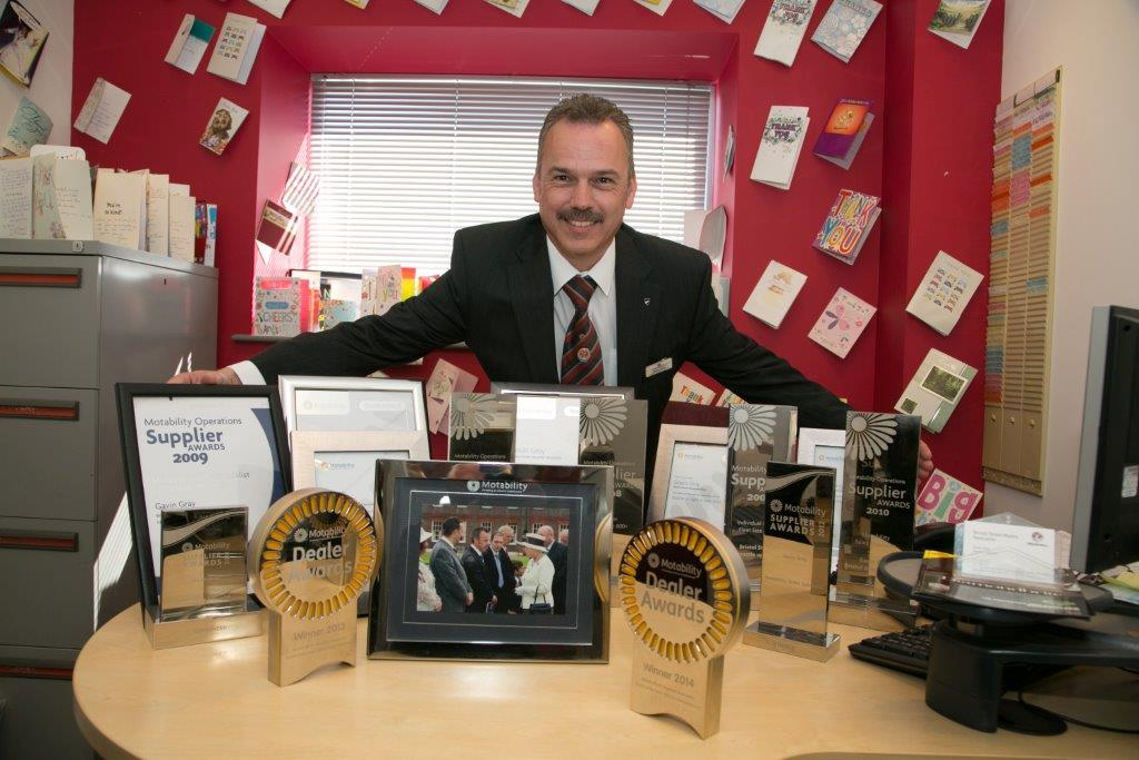 Meet Gavin Gray: Award-winning Motability specialist