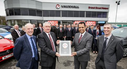 Vauxhall Sunderland says farewell to loyal colleague