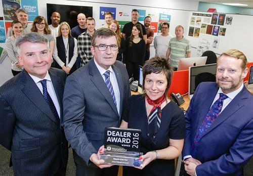 Bristol Street Motors awarded Motability Website of the Year