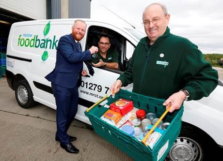 Peugeot Harlow helps to keep foodbanks on road