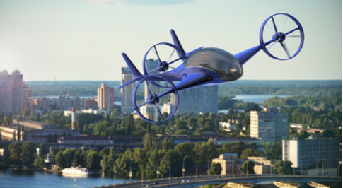 Daimler Invests in Flying Taxi Firm