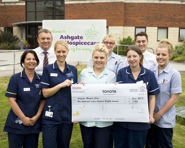 Toyota Chesterfield helps 'Fund a Better Tomorrow'
