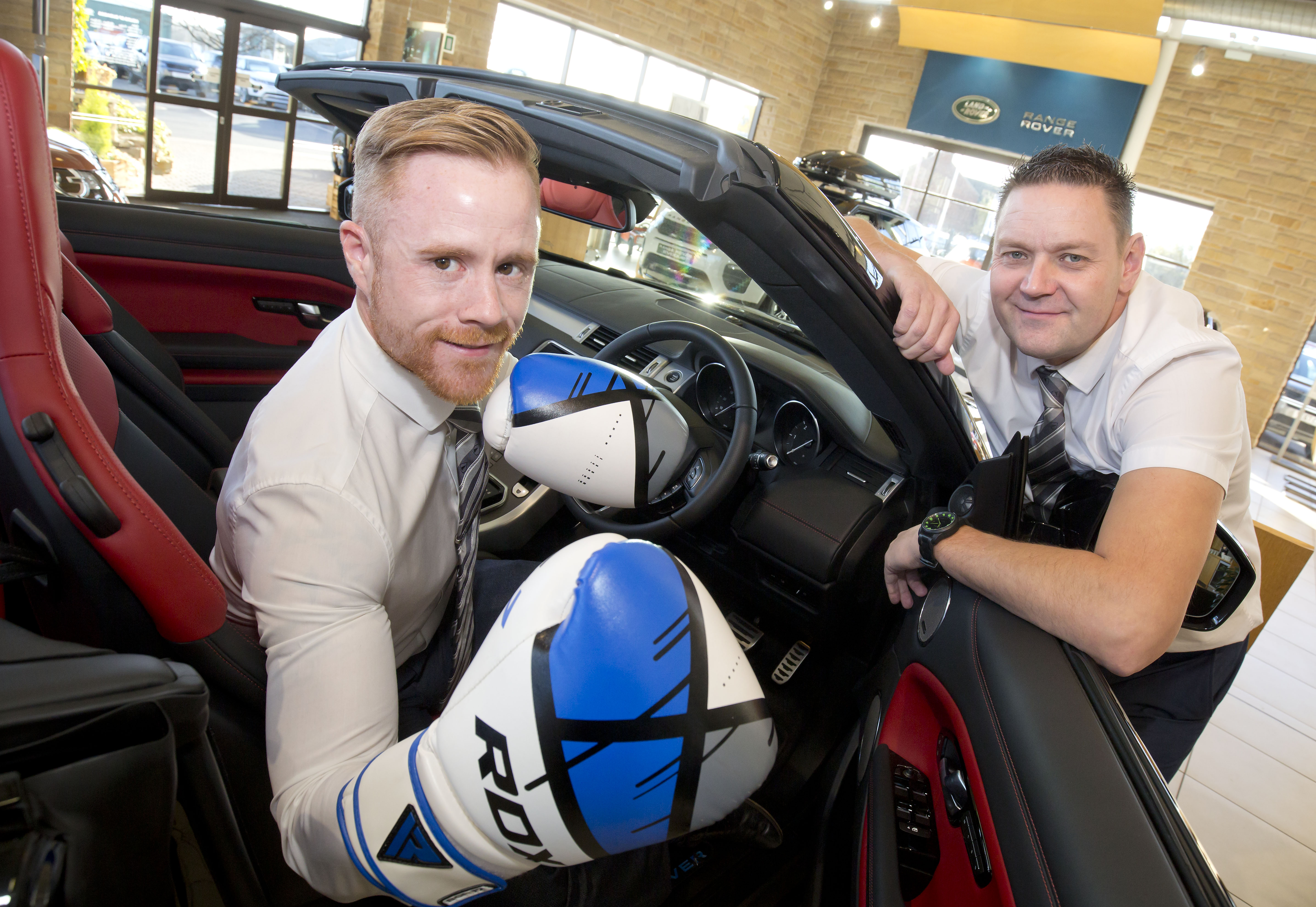 Business Manager gets in the ring for Cancer Research UK